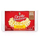 Contains (1) individually wrapped 3.29 ounce. classic bag of Orville Redenbacher's Butter Popcorn Orville Redenbacher's is the only leading popcorn brand that uses real butter (Select products contain real butter. See package ingredients for details....