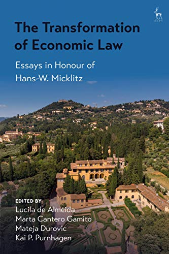 The Transformation of Economic Law: Essays in Honour of Hans-W. Micklitz (English Edition)