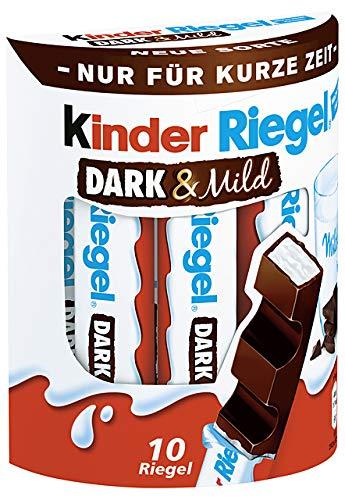 Ferrero Kinder Riegel Dark & Mild 10er Multipack, 4er Pack (4 x 210g Multipack)