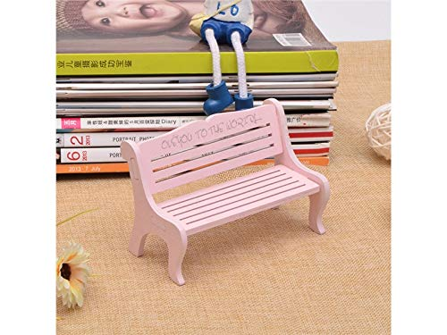 kxrzu Génial Silla en miniatura de jardín de hadas Adornos de banco muebles para decoración...
