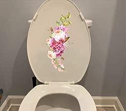 sticker bouche sourire pour toilette autocollant