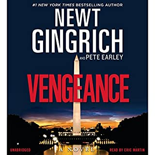 Vengeance audiobook cover art