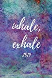 Inhale Exhale 2019: Spiritual Yoga Agenda Planner and Appointment Book