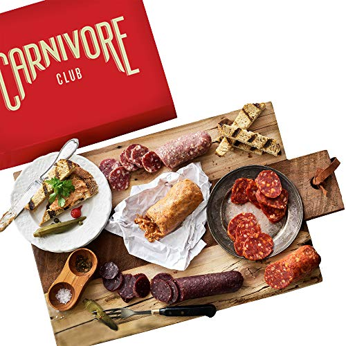 Carnivore Club Gift Box (Gourmet Food Gift) 5 Italian Meats...