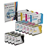 LD Compatible Ink Cartridge Replacement for Brother LC51 (4 Black, 2 Cyan, 2 Magenta, 2 Yellow, 10-Pack)