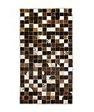 Zerimar Alfombras Patchwork | Alfombra Patchwork Piel de Vaca | Medidas: 120x60 cm | Alfombra Salón | Alfombra Decoracion |...