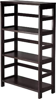 Wood & Style Premium Décor Shelf/Storage, Book, 3-Tier Wide