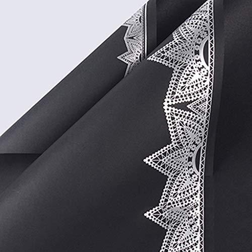 ZXL dubbelzijdig kantinpakpapier mat boeket inpakpapier effen kleur waterdicht Thanksgiving Gift inpakmateriaal papier (kleur: B, Maat : 60 * 60CM)