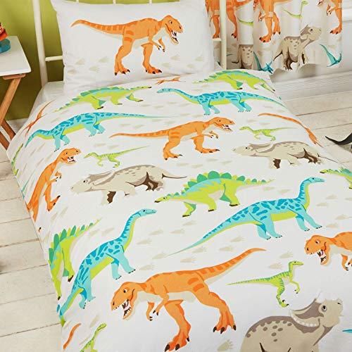 cortinas infantiles niño habitacion dinosaurios