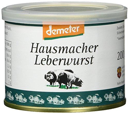 Bio Fit Hausmacher Leberwurst (1 x 200 g)