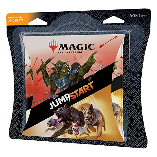 Magic The Gathering Jumpstart Multipack | Magic: The Gathering | 4 20-Card Booster Packs | 80 Cards Including Basic Land Cards