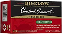 Bigelow Tea - カフェイン抜きの黒茶一定コメント - 1ティーバッグ