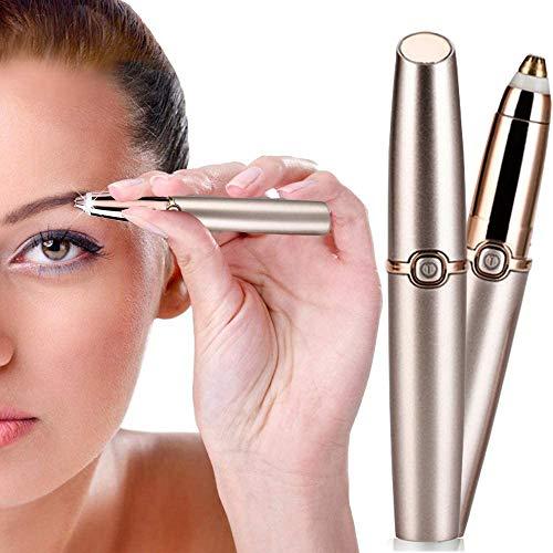 Stylo pour enlever les sourcils, sans douleur - Rechargeable par USB