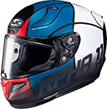 HJC Helmets Casco RPHA 11 Quintain azul, rojo y blanco, XXL (62/63)