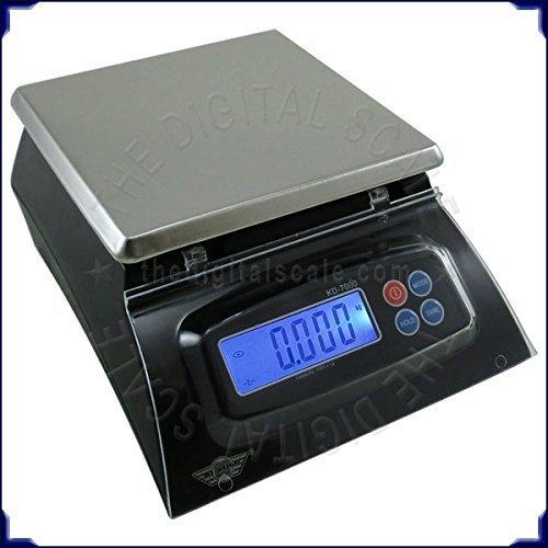 mancelboutique Bilancia da Cucina Multiuso, 7 kg/1 g, Ideale per Alimenti, Mense, pizzerie, panetterie, ECC.