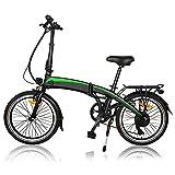 Bicicleta eléctrica, 350W 36V 10AH/7.5AH Velocidad máxima 25 km/h 3 Modos de conducción,Resistencia 50-55 kilómetros, con Asistencia de Pedal,Bici Electricas Adulto,