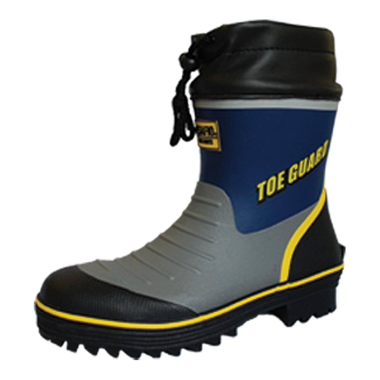 ミドリ安全 鋼製先芯 ラバー1層底 ゴム底 安全靴 セーフティブーツ MPB185 ブルー