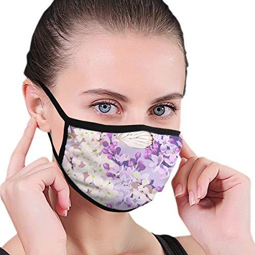 U Shape Schede maschera riutilizzabili Con protezione facciale lavabile e traspirante Viola contro la Polvere per il Ciclismo all'aperto