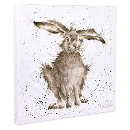 Wrendale Designs /'Hare-Brained/' Double Sided Gift Wrap