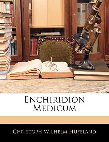 Hufeland, C: GER-ENCHIRIDION MEDICUM