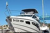 Shirtstown Bootskennzeichen Bootsnummer Bootbeschriftung, selbsklebende Folie, vers. Größen für...