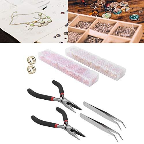Anillo de acero inoxidable con cierre de langosta, anillo para hacer joyas de alta calidad, para hacer joyas