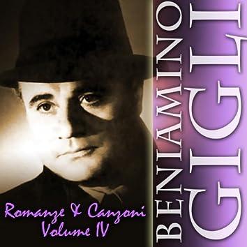 Romanze & Canzoni, Vol. 4