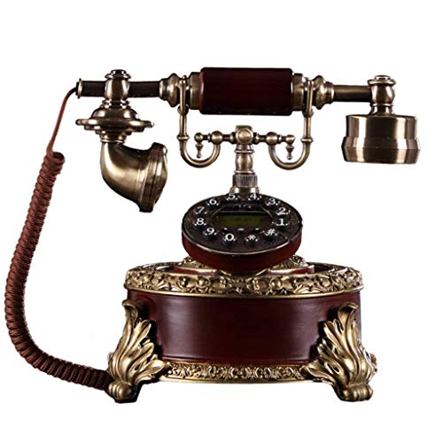 MHTCJ Schnurgebundenes Telefon mit Freisprecheinrichtung/Vintage-Deko-Telefon Festnetztelefon/Antiktelefon
