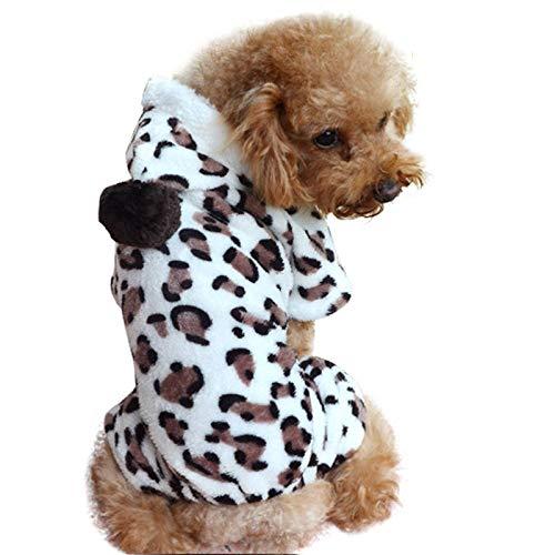 CWYPWDY Huisdier Kleding Hond Hoodies Vrouwen Herfst Winter Draag Huisdier Jumpsuit Warm Hond Kleding Kleding Voor Honden Kleine Hond Vier Been Hoodie