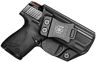 Amberide IWB KYDEX Holster Fit: Smith & Wesson M&P Shield (M1.0/M.20) 9mm/.40 S&W - 3.1