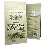 Kava Kava Root Tea - Pure Herbal Tea Series by Palm Beach Herbal Tea Company (30 Tea Bags) 100% Natural