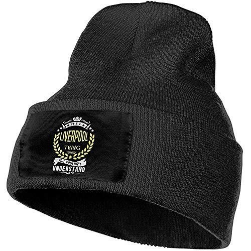 Dale Hill Hombres y Mujeres Liverpool Gorros de Punto Calientes al Aire Libre Sombrero Gorras de Calavera Suaves de Invierno