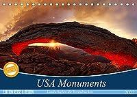 USA Monuments - Landschaften die beeindrucken (Tischkalender 2022 DIN A5 quer): Einzigartige Monumente der Natur (Monatskalender, 14 Seiten )