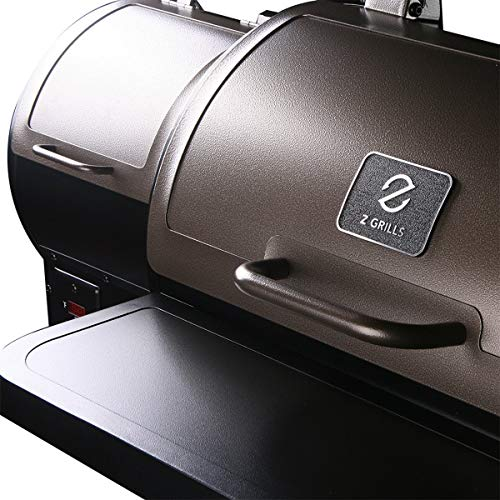 Z GRILLS ZPG-450A Wood Pellet Grill Smoker for Outdoor Cooking, 2021 Upgrade, 8-in-1 & Pid Controller (Grill)