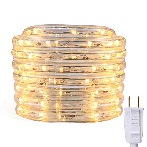 Energetic LED Rope Lights Outdoor/Indoor, 18ft Waterproof...