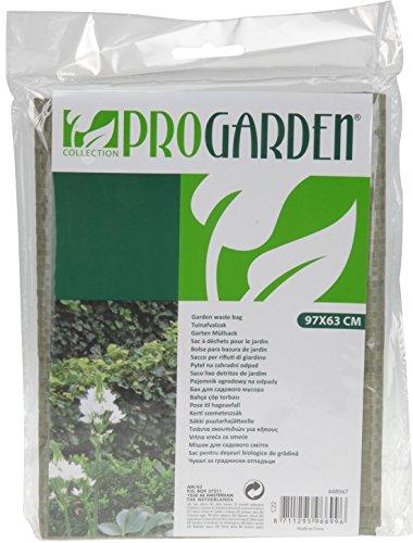 Pro Garden Sac poubelle de jardin en plastique durable 97 x 63 cm.