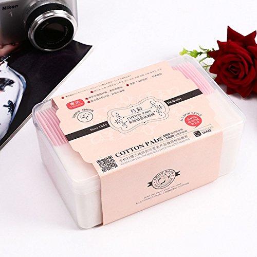 Bouffée cosmétique 60 PCS double couche + 180 PCS classique maquillages coton Puff Pads ZYS