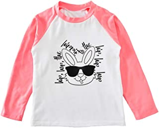 Toddler Infant Baby Boys' Girls' Short Long Sleeve Funny Graphic Tees Shirt Blouse Tops