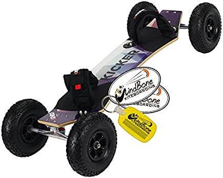 "Kheo Kicker 9"" Kite ATB LandBoard Mountainboard Kiteboarding Bundle : (3 Items) Includes"