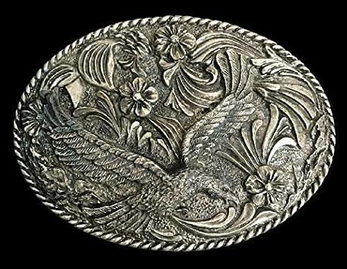 Native Bald Genuine American Austin Mall Eagle Bird Buckle Belt Prey