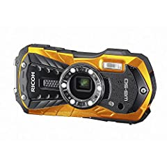 RICOH 防水デジタルカメラ RICOH WG-50 オレンジ 防水14m耐ショック1.6m耐寒-10度 RICOH WG-50 OR 04581