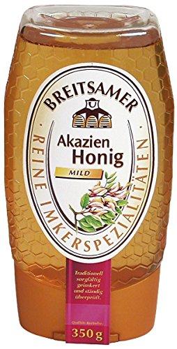 Breitsamer Tee Pause, Honig von Akazien und Frühlingsblüten Spender, 1er Pack (1 x 350 g)