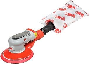 """3M Elite Random Orbital Sander – Self Generated Vacuum Sander – 6"""" x 3/16"""" Diam. Orbit – Pneumatic Palm Sander – Hook and Loop Pad – Elite Series – For Wood, Composites, Metal"""