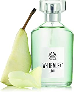 The Body Shop Perfume WHITE MUSK L'EAU 100ml - sensuality of signature musk.
