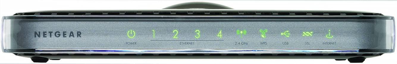 Netgear DGN3500 N300 Wireless Gigabit ADSL2+ Modem Router