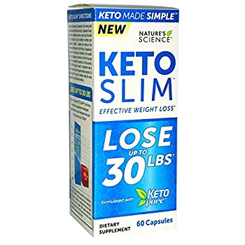 Science Keto Pure Slim Effective Weight Loss 60 Capsules