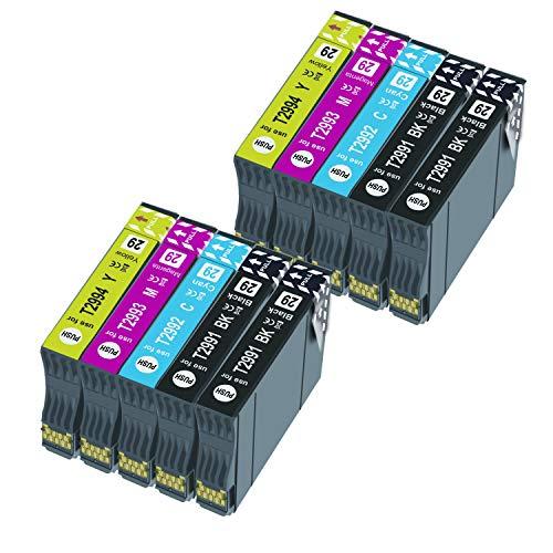 BADA 29XL - Cartucho de tinta compatible para Epson 29XL para Epson Expression Home XP-235 XP-245 XP-247 XP-330 XP-332 XP-335 XP-342 XP-345 XP-430 XP-432 XP-435 (10 unidades)