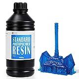 【Curado Rápido y Alta Precisión】 La resina 3D de fotopolímero estándar WEISTEK tiene alta fluidez y curado rápido. Nuestra resina UV de 405 nm está diseñada para reducir la contracción del volumen, lo que garantiza que las piezas impresas tengan deta...