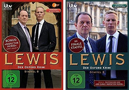 Lewis - Der Oxford Krimi - Staffel 8+9 im Set - Deutsche Originalware [8 DVDs]
