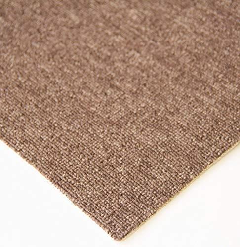 Steffensmeier Teppichboden Meddon Meterware | Auslegware für Kinderzimmer Wohnzimmer Schlafzimmer | Braun, Größe: 300x500 cm
